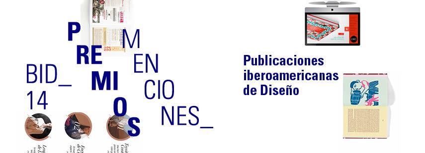 Premio bid14_Publicaciones iberoamericanas de diseno